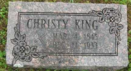 "KING, CHRISTOPHER H. ""CHRISTY"" - Marion County, Arkansas 