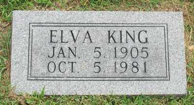 SHEW KING, ELVA - Marion County, Arkansas | ELVA SHEW KING - Arkansas Gravestone Photos