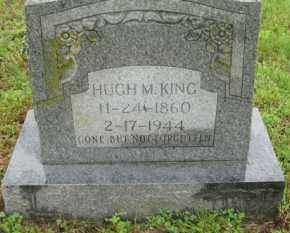 KING, HUGH M. - Marion County, Arkansas | HUGH M. KING - Arkansas Gravestone Photos