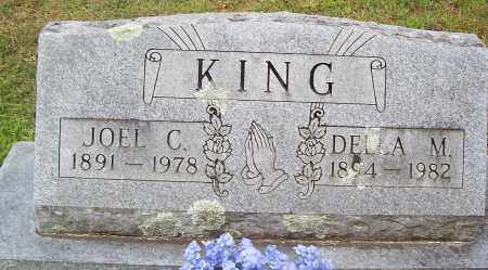 KING, JOEL C. - Marion County, Arkansas | JOEL C. KING - Arkansas Gravestone Photos