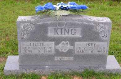 "KING, JANIE LILLIAN GAY ""LILLIE"" - Marion County, Arkansas 