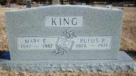 KING, RUFUS P. - Marion County, Arkansas | RUFUS P. KING - Arkansas Gravestone Photos