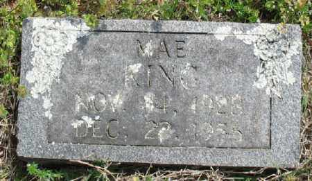 KING, MAE - Marion County, Arkansas | MAE KING - Arkansas Gravestone Photos