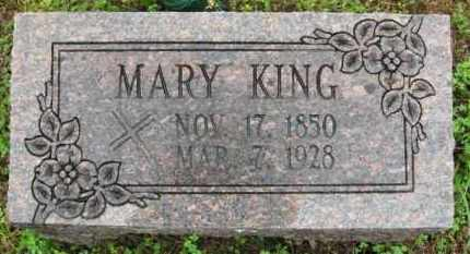 "KING, MARY ""MOLLIE"" - Marion County, Arkansas 