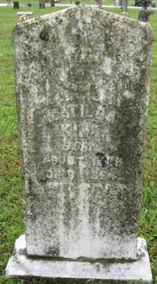KING, MATILDA - Marion County, Arkansas | MATILDA KING - Arkansas Gravestone Photos