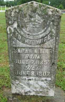 KING, SARAH N. - Marion County, Arkansas | SARAH N. KING - Arkansas Gravestone Photos