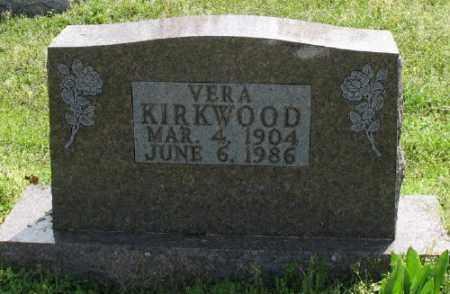 KIRKWOOD, VERA - Marion County, Arkansas | VERA KIRKWOOD - Arkansas Gravestone Photos