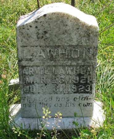 LAWHON, ARVEL - Marion County, Arkansas | ARVEL LAWHON - Arkansas Gravestone Photos