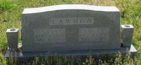 LAWHON, T. J. - Marion County, Arkansas | T. J. LAWHON - Arkansas Gravestone Photos