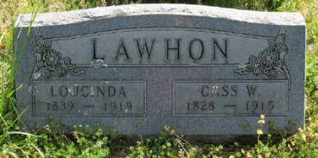 LAWHON, CASS W. - Marion County, Arkansas | CASS W. LAWHON - Arkansas Gravestone Photos