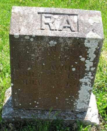 LAWHON, R. A. - Marion County, Arkansas | R. A. LAWHON - Arkansas Gravestone Photos