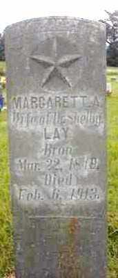 LAY, MARGARETT ANN - Marion County, Arkansas | MARGARETT ANN LAY - Arkansas Gravestone Photos
