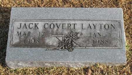 LAYTON, JACK COVERT - Marion County, Arkansas | JACK COVERT LAYTON - Arkansas Gravestone Photos
