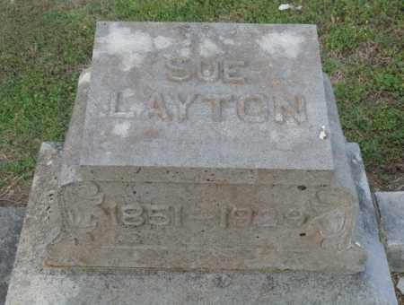 LAYTON, SUE - Marion County, Arkansas | SUE LAYTON - Arkansas Gravestone Photos