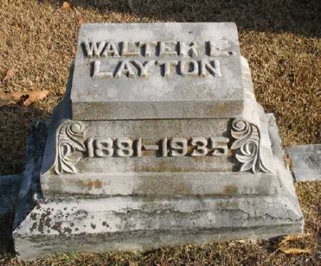 LAYTON, WALTER E. - Marion County, Arkansas | WALTER E. LAYTON - Arkansas Gravestone Photos