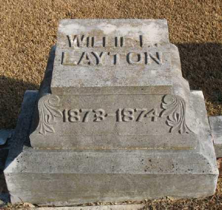 LAYTON, WILLIE L. - Marion County, Arkansas | WILLIE L. LAYTON - Arkansas Gravestone Photos