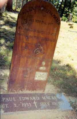 MACKEN, PAUL EDWARD - Marion County, Arkansas | PAUL EDWARD MACKEN - Arkansas Gravestone Photos