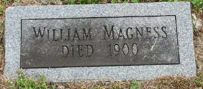 MAGNESS, WILLIAM - Marion County, Arkansas | WILLIAM MAGNESS - Arkansas Gravestone Photos