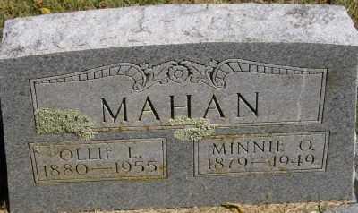 MAHAN, MINNIE O. - Marion County, Arkansas | MINNIE O. MAHAN - Arkansas Gravestone Photos