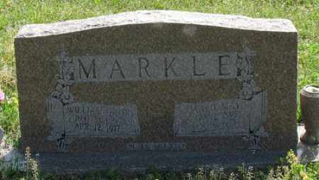 MARKLE, CARRIE MAY - Marion County, Arkansas | CARRIE MAY MARKLE - Arkansas Gravestone Photos