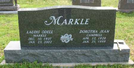 MARKLE, LAUDIS ODELL - Marion County, Arkansas | LAUDIS ODELL MARKLE - Arkansas Gravestone Photos