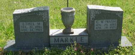 MARKLE, G. W. - Marion County, Arkansas | G. W. MARKLE - Arkansas Gravestone Photos