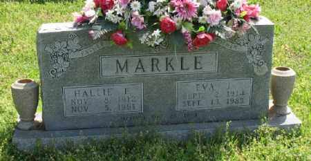 MARKLE, HALLIE E. - Marion County, Arkansas | HALLIE E. MARKLE - Arkansas Gravestone Photos