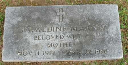 MARTIN, GERALDINE - Marion County, Arkansas | GERALDINE MARTIN - Arkansas Gravestone Photos