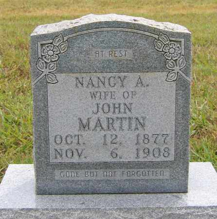 ANDERSON MARTIN, NANCY ELIZABETH - Marion County, Arkansas | NANCY ELIZABETH ANDERSON MARTIN - Arkansas Gravestone Photos