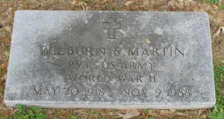 MARTIN (VETERAN WWII), WILBURN S - Marion County, Arkansas | WILBURN S MARTIN (VETERAN WWII) - Arkansas Gravestone Photos