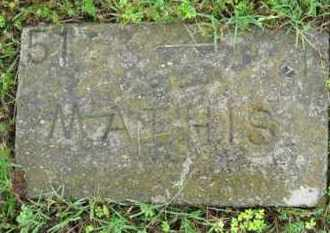 MATHIS, (NO FIRST NAME LISTED) - Marion County, Arkansas | (NO FIRST NAME LISTED) MATHIS - Arkansas Gravestone Photos