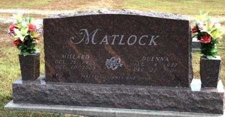 MATLOCK, MILLARD - Marion County, Arkansas | MILLARD MATLOCK - Arkansas Gravestone Photos