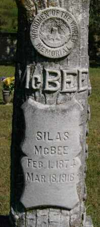 MCBEE, SILAS - Marion County, Arkansas | SILAS MCBEE - Arkansas Gravestone Photos