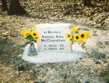 MCCLANAHAN, PENNY ANN - Marion County, Arkansas | PENNY ANN MCCLANAHAN - Arkansas Gravestone Photos