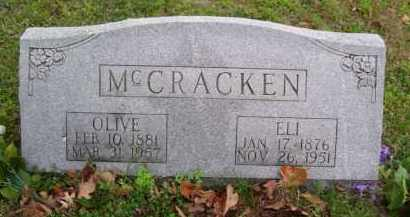 MCCRACKEN, ELI JASPER - Marion County, Arkansas | ELI JASPER MCCRACKEN - Arkansas Gravestone Photos