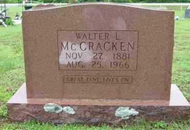 MCCRACKEN, WALTER L. - Marion County, Arkansas | WALTER L. MCCRACKEN - Arkansas Gravestone Photos