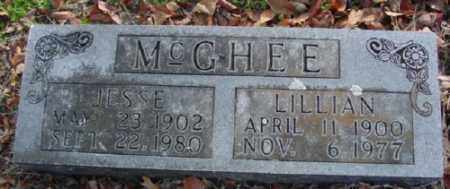 MCGHEE, LILLIAN - Marion County, Arkansas | LILLIAN MCGHEE - Arkansas Gravestone Photos
