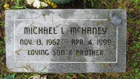 MCHANEY, MICHAEL L. - Marion County, Arkansas | MICHAEL L. MCHANEY - Arkansas Gravestone Photos