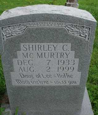 MCMURTRY, SHIRLEY C. - Marion County, Arkansas | SHIRLEY C. MCMURTRY - Arkansas Gravestone Photos