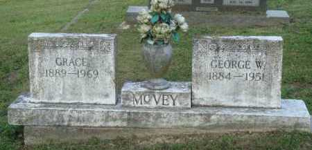 MCVEY, GEORGE W. - Marion County, Arkansas | GEORGE W. MCVEY - Arkansas Gravestone Photos