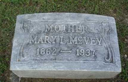 MCVEY, MARY L. - Marion County, Arkansas | MARY L. MCVEY - Arkansas Gravestone Photos