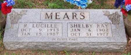 MEARS, SHELBY RAY - Marion County, Arkansas | SHELBY RAY MEARS - Arkansas Gravestone Photos