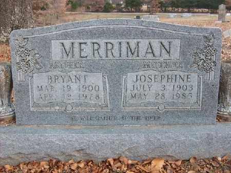 MERRIMAN, JOSEPHINE - Marion County, Arkansas | JOSEPHINE MERRIMAN - Arkansas Gravestone Photos