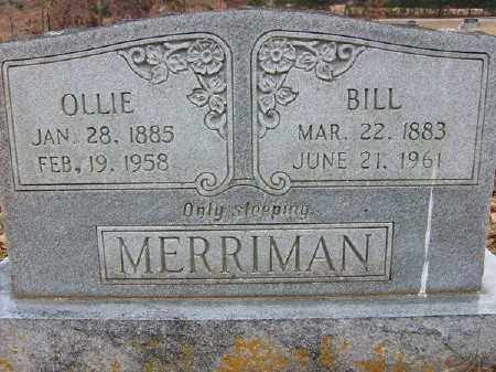 FRIEND MERRIMAN, OLLIE - Marion County, Arkansas | OLLIE FRIEND MERRIMAN - Arkansas Gravestone Photos