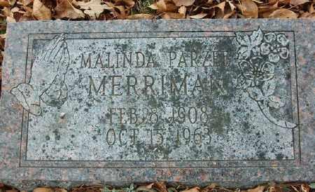 MERRIMAN, MALINDA PARZEE - Marion County, Arkansas | MALINDA PARZEE MERRIMAN - Arkansas Gravestone Photos