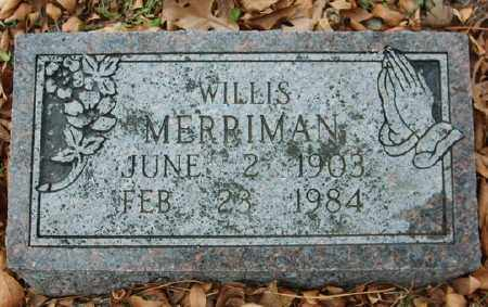 MERRIMAN, WILLIS - Marion County, Arkansas | WILLIS MERRIMAN - Arkansas Gravestone Photos