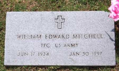 MITCHELL (VETERAN), WILLIAM EDWARD - Marion County, Arkansas | WILLIAM EDWARD MITCHELL (VETERAN) - Arkansas Gravestone Photos