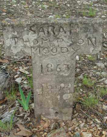 THOMPSON MOODY, SARAH - Marion County, Arkansas | SARAH THOMPSON MOODY - Arkansas Gravestone Photos