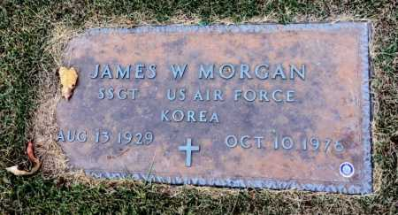 MORGAN (VETERAN KOR), JAMES W - Marion County, Arkansas | JAMES W MORGAN (VETERAN KOR) - Arkansas Gravestone Photos