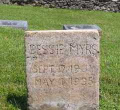 MYERS, DESSIE - Marion County, Arkansas | DESSIE MYERS - Arkansas Gravestone Photos